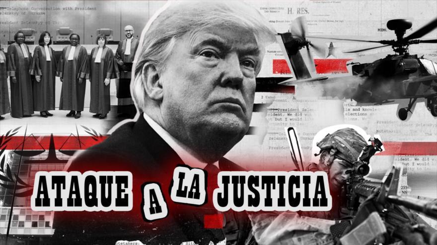 Detrás de la Razón: Sanciones contra Corte Penal Internacional, decreta Gobierno estadounidense