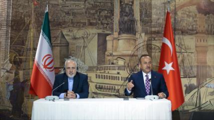 Turquía apoya a Irán ante sanciones unilaterales de EEUU