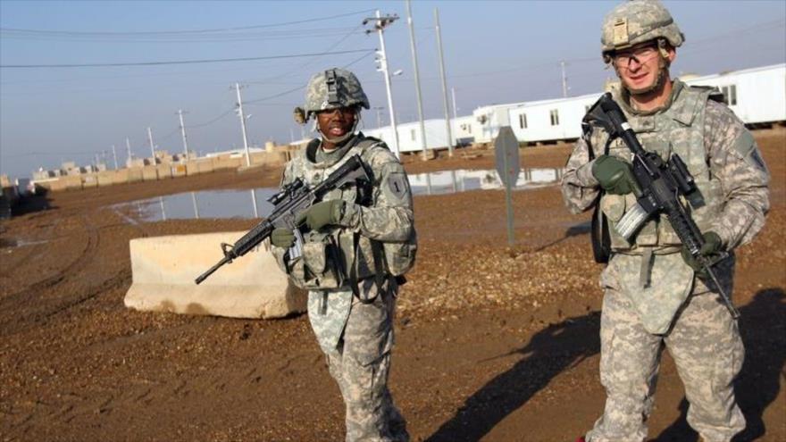 Tropas de EEUU en Bagdad; blancos de nuevo ataque con cohetes | HISPANTV