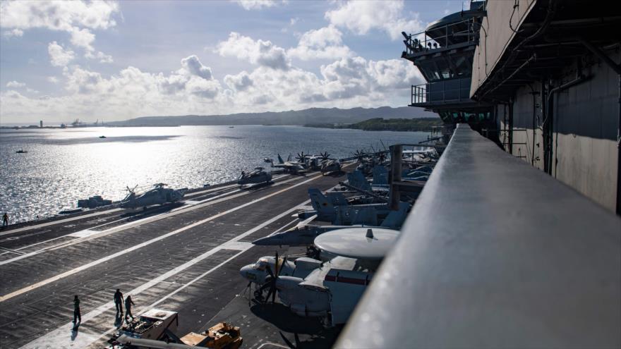 China: Armada de EEUU flexiona en vano músculos en Indo-Pacífico | HISPANTV