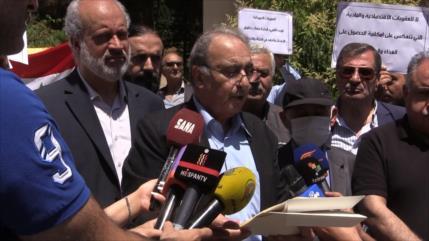 Intelectuales sirios y palestinos denuncian las políticas de EEUU