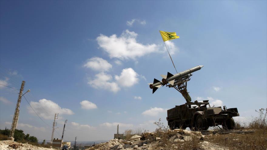 Un misil Katyusha del Movimiento de Resistencia Islámica de El Líbano (Hezbolá).