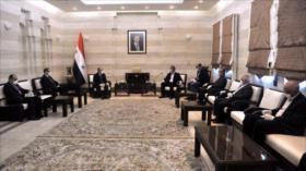 Irán y Siria acuerdan afianzar cooperación económica ante EEUU