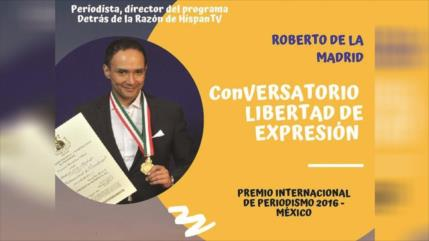 Reconocen el trabajo de presentador de HispanTV en América Latina