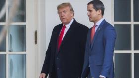 Trump y Guaidó acuerdan endurecer las sanciones contra Venezuela