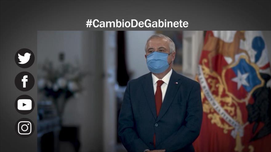 Etiquetaje: Se agudiza crisis en Chile, renuncia ministro de Salud