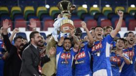 Nápoles vence a Juventus en los penaltis y gana la Copa de Italia