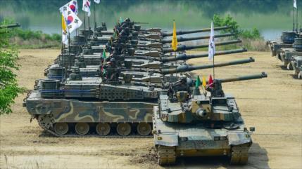 Conozcan los tanques que Seúl pretende usar contra Corea del Norte