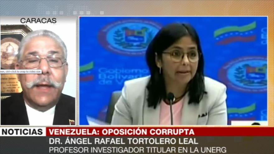 'Cada acción de Guaidó revela una trama más de corrupción'