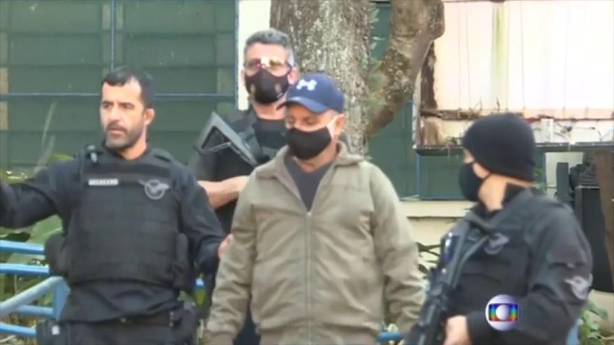 Arrestan a exasesor del hijo de Bolsonaro por presunta corrupción   HISPANTV
