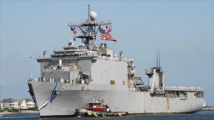 EEUU envía otro buque al mar Negro en las narices de Rusia
