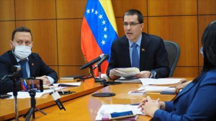 Arreaza denuncia escalada de agresiones de EEUU contra Venezuela
