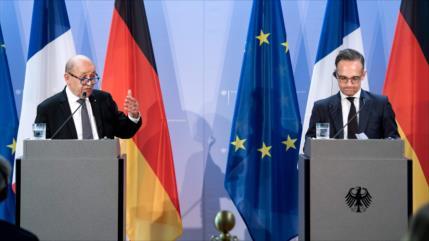 Francia y Alemania: Anexar Cisjordania viola derecho internacional