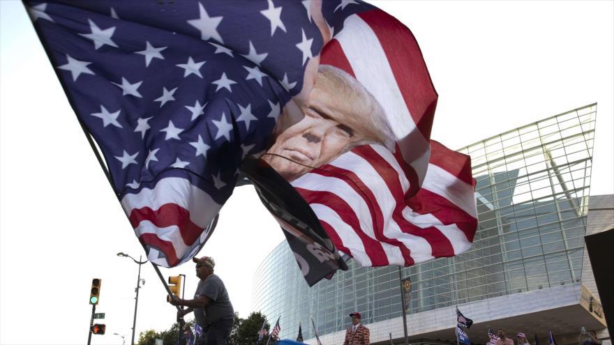 Mitin de Trump en plena pandemia de COVID-19 y ola de protestas | HISPANTV