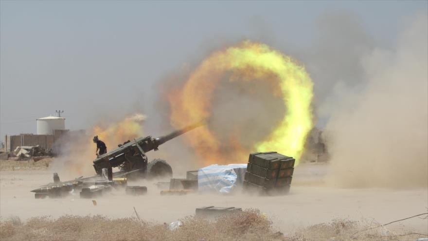 Fuerzas iraquíes destruyen escondrijos terroristas en Samarra | HISPANTV
