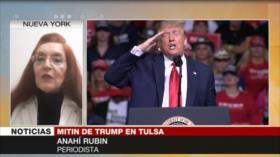 """""""Polarizar EEUU, la única estrategia de Trump para la reelección"""""""