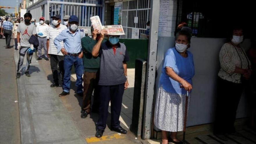 Perú sufrirá la peor caída económica en un siglo por la COVID-19 | HISPANTV