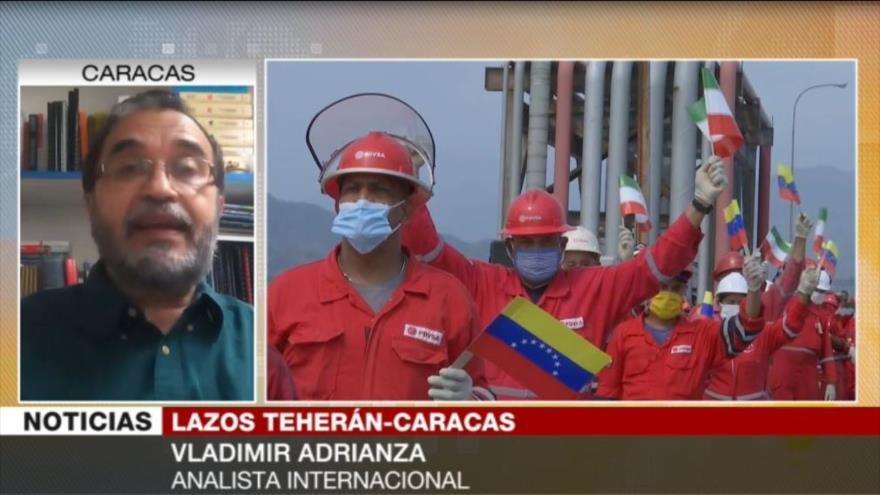 """Adrianza: Irán y Venezuela rompieron """"con la hegemonía"""" de EEUU"""