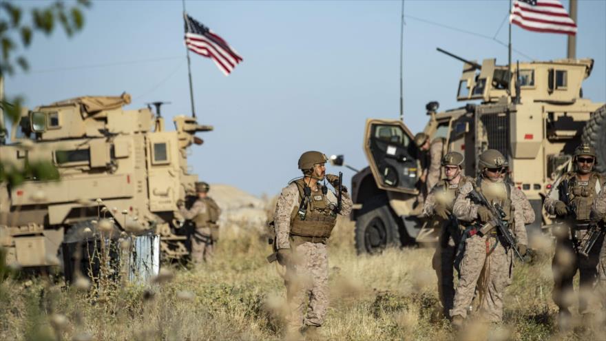 Vídeo: Potentes explosiones cerca de una base de EEUU en Siria