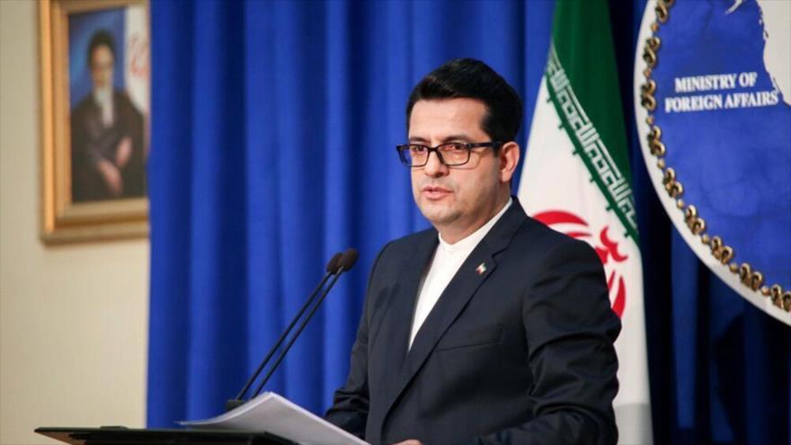 El portavoz del Ministerio de Relaciones Exteriores de Irán, Seyed Abás Musavi.