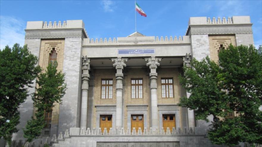 La sede del Ministerio de Asuntos Exteriores de Irán, en Teherán (la capital).