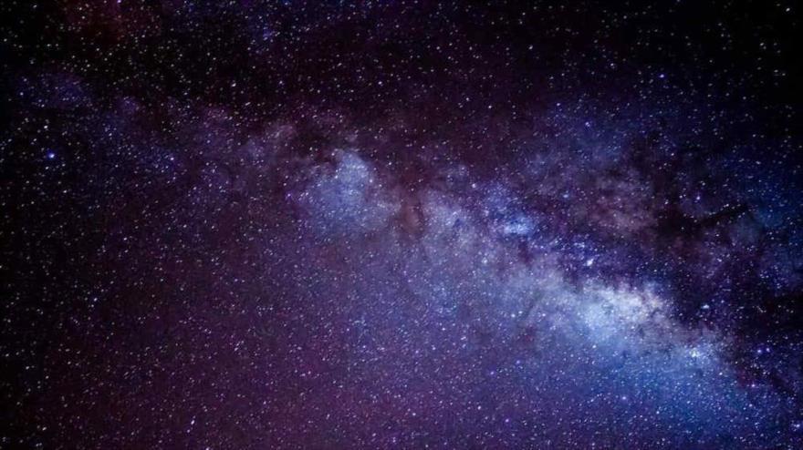 Una imagen captada de la Vía Láctea.