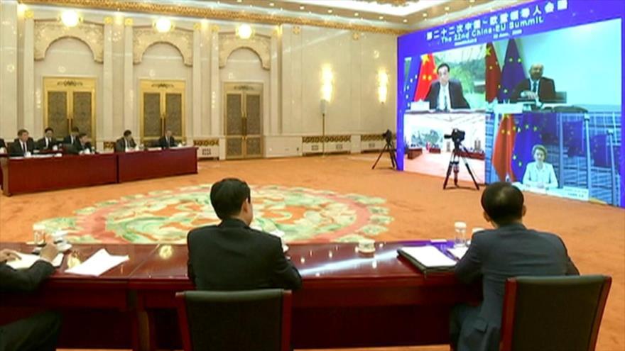 China y UE buscan cooperación contra COVID-19