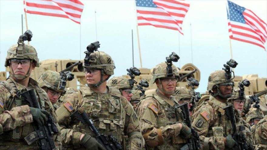 Un grupo de soldados del Ejército de Estados Unidos.
