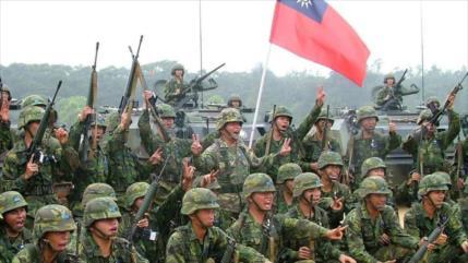Taiwán prepara a sus marines para combate ante tensión con China