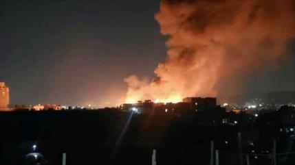 Vídeo: Violentas explosiones sacuden la capital de Arabia Saudí