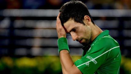 Djokovic, número uno del tenis mundial, da positivo en COVID-19