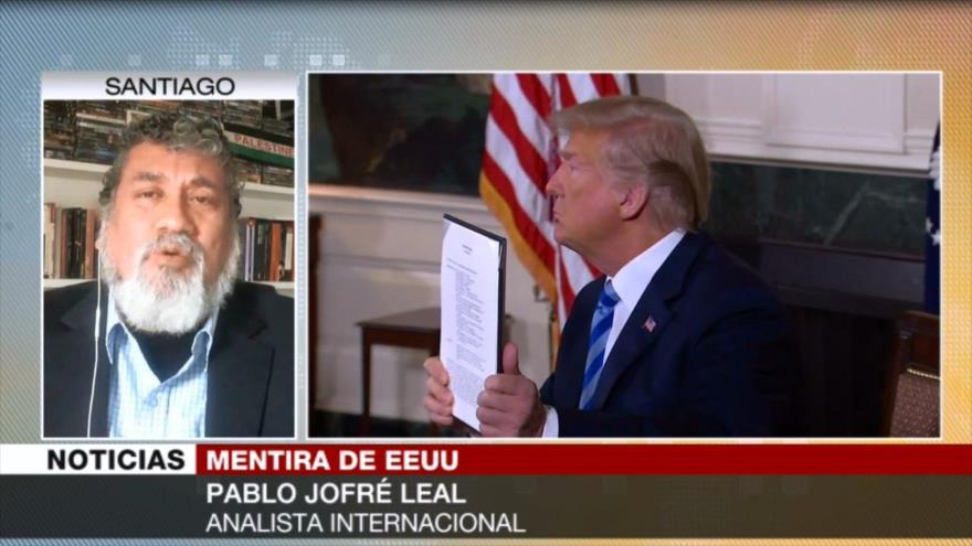 Jofré Leal: Irán rechaza conversar con Trump porque nunca cumple