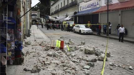 Vídeo: Así se vivió el fuerte sismo de 7,5 que sacudió México