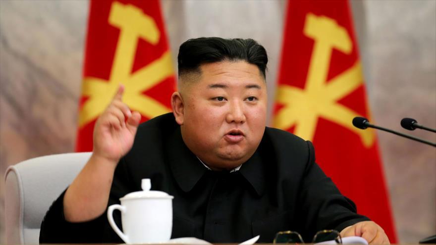 El líder norcoreano, Kim Jong-un, 23 de mayo de 2020. (Foto: AFP)