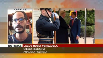 Diego: Rusia es un apoyo fundamental para Venezuela frente a EEUU