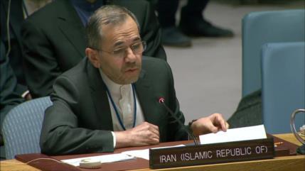 Irán: Consejo de Seguridad es ineficaz por apoyo de EEUU a Israel