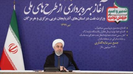 Irán no dependerá del estrecho de Ormuz para exportar crudo
