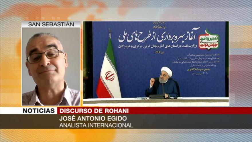 Ejido: Patriotismo de iraníes ante sanciones de EEUU es loable