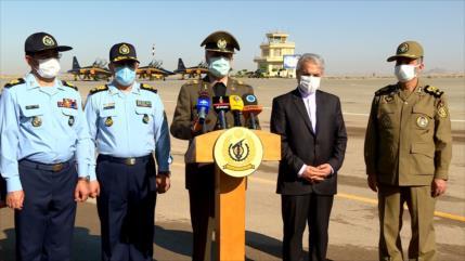 El Ejército de Irán recibe tres aviones de combate Kosar