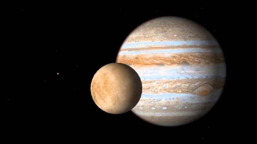 Descubren Que Europa Una Luna De Júpiter Puede Albergar Vida Hispantv