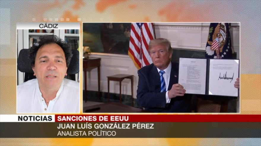 González Pérez: EEUU busca dañar al sistema defensivo de Irán