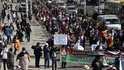 Estudio revela amplio rechazo a candidatura de Añez en Bolivia