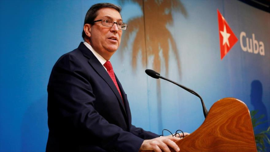 El ministro cubano de Asuntos Exteriores, Bruno Rodríguez Parrilla.