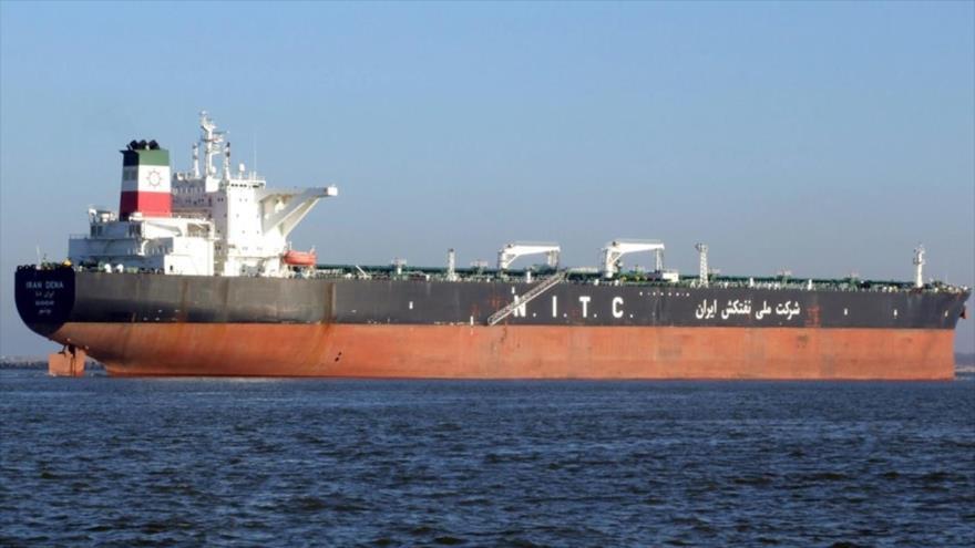 Un tanquero de la Compañía Nacional de Petróleo de Irán (NITC, por sus siglas en inglés).