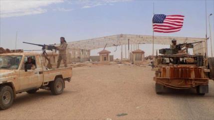 Rusia y Siria denuncian apoyo de EEUU a sus mercenarios en Al-Tanf