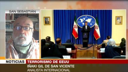 Gil de San Vicente: Nadie cree en informes de EEUU sobre terrorismo