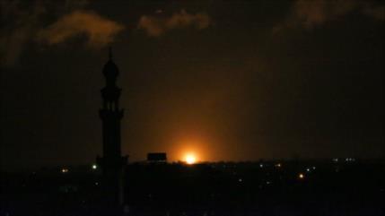 Aviones de guerra israelíes vuelven a atacar la Franja de Gaza