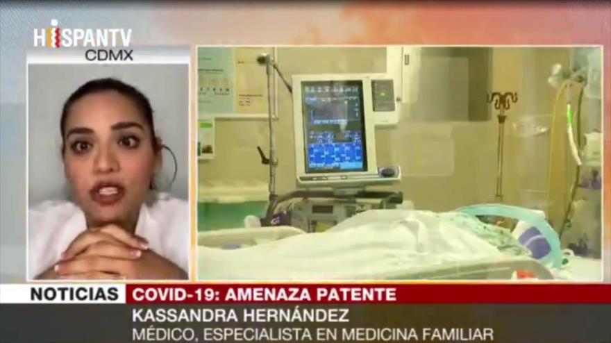 Hernández: Cifra real de casos de COVID-19 en EEUU es 20 millones