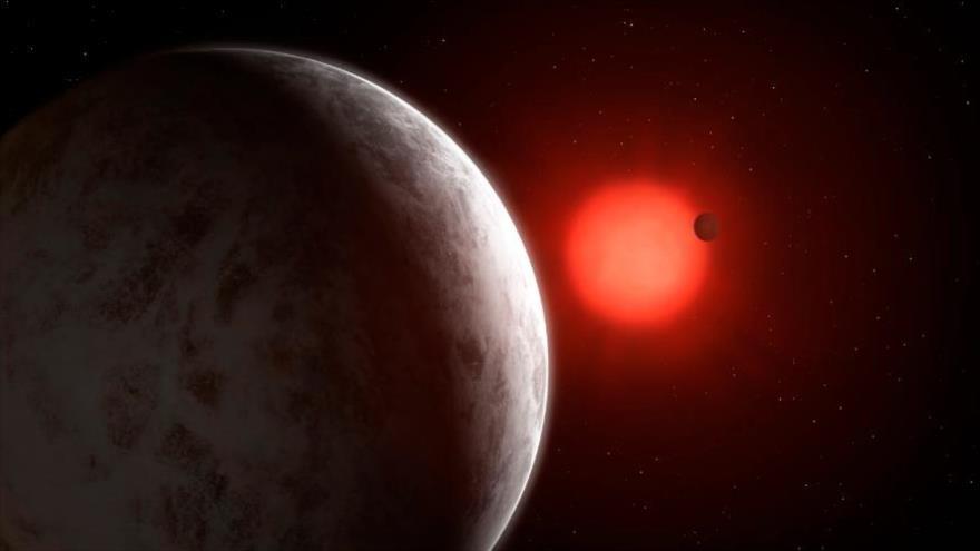 Encuentran un sistema planetario cercano con al menos dos supertierras en su órbita.