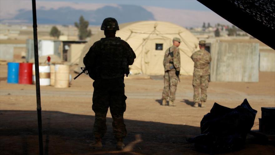Soldados estadounidenses en una base militar en la ciudad iraquí de Mosul, 14 de febrero de 2017. (Foto: Reuters)